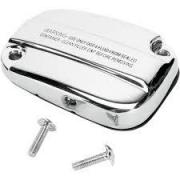 Chrome master cylinder cover DOT 4