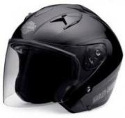 HARLEY-DAVIDSON MEN'S 3/4 HELMET WITH RETRACTABLE SUN SHIELD